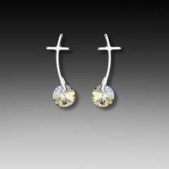 cross post earring