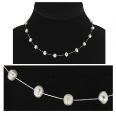 Tin Cup Freshwater pearl necklace
