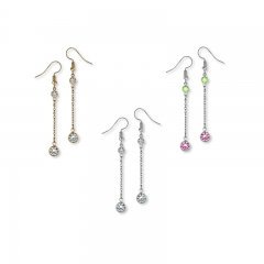 linear earrings